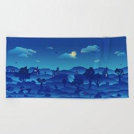 Fairytale Dreamscape Beach Towel