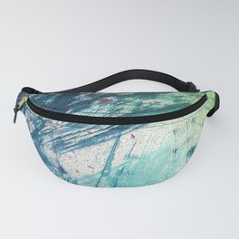 Variations in blue 3 Fanny Pack