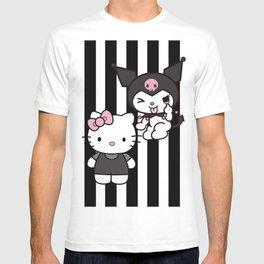 Hello Dark Kitty & Kuromi T-shirt