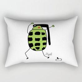 Oh Crap! Rectangular Pillow