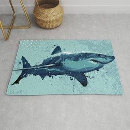 Guppy | Great White Shark Rug
