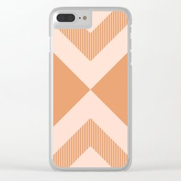 X Honey & Blush Clear iPhone Case