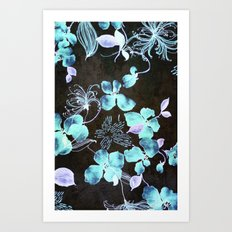 VINTAGE FLOWERS XXXV - for iphone Art Print