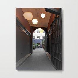 Copenhagen Archways Print   Urban Landscape Metal Print