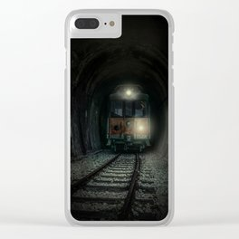 Mysterious trip Clear iPhone Case