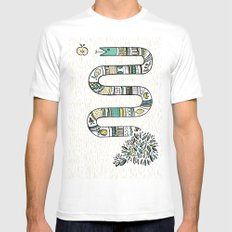 Snake fruit MEDIUM Mens Fitted Tee White