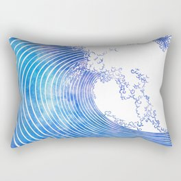 Pacific Waves III Rectangular Pillow