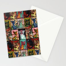 9 Zombie Cats version 2 Stationery Cards