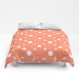 Sassy (Peach) Comforters
