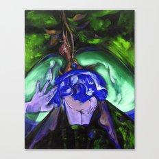 Passion green Canvas Print