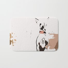 Chinese crested 7 Bath Mat