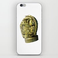 c3po iPhone & iPod Skins featuring C3PO by bkpena