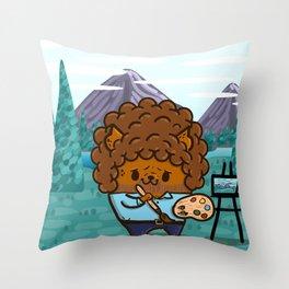 Bub Ross Throw Pillow