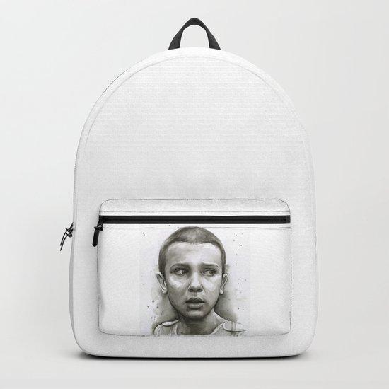 Stranger Things Eleven Portrait Upside Down Backpack