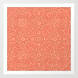 Fine China - Coral Art Print
