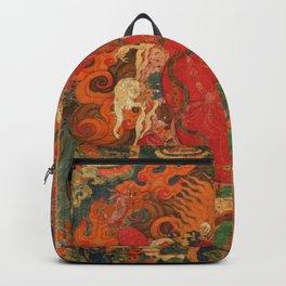 Guru Dragpo Tibetan Buddhist Deity Backpack