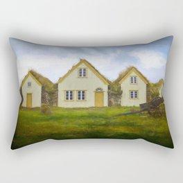 Iceland Simpler times 4 Rectangular Pillow