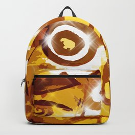 The glowing sun Backpack