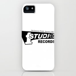 Studio One - Sir Coxsone Dodd (Common Style) iPhone Case