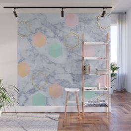 Marbled Wall Mural