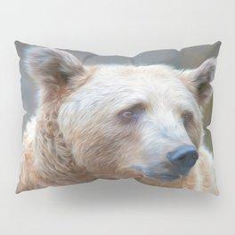 Bear Necessities      (digital painting) Pillow Sham