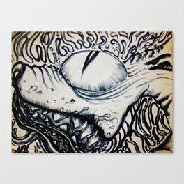 Slobber Canvas Print