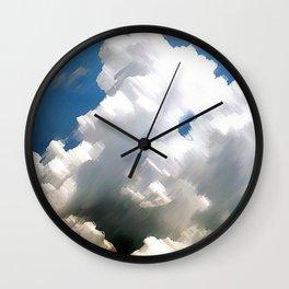 Sky Sea Wall Clock