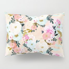 Florence Painterly Floral Pillow Sham