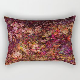 Red Galaxy Rectangular Pillow