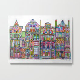Cadogan Square Metal Print
