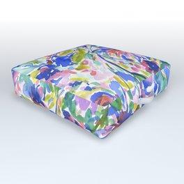 Maximal Floral Wild & Free Outdoor Floor Cushion