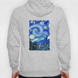 Tardis Art Starry Night Hoody