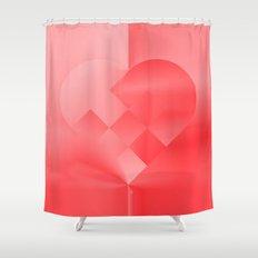 Danish Heart Love Shower Curtain
