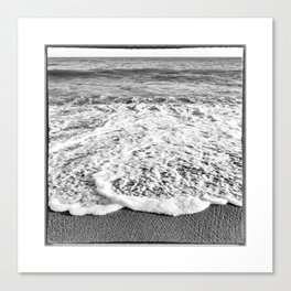 Haiti, Beach on the Caribbean Sea Canvas Print