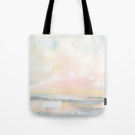 Rebirth - Pastel Ocean Seascape Tote Bag