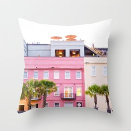 Southern Color Throw Pillow