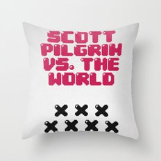 Scott Pilgrim vs. The World Throw Pillow