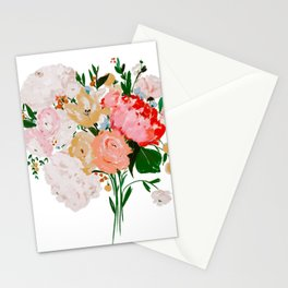Brighten the day Bouquet Stationery Cards