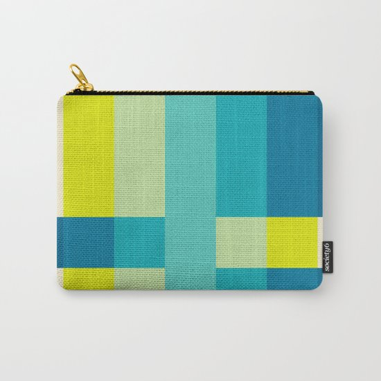 colored stripes 04 Carry-All Pouch