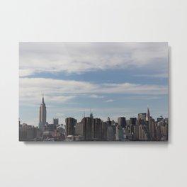 NYC Summer Skyline Metal Print