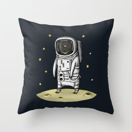 Moon Bear Throw Pillow