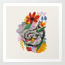 Fancy Snake Art Print