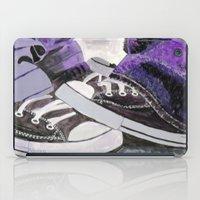 converse iPad Cases featuring Converse by Leslie Creveling