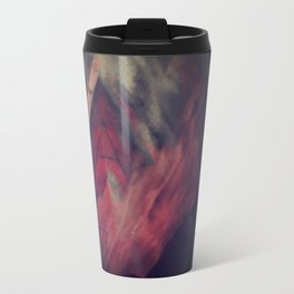 Pyramid Ablaze  Travel Mug
