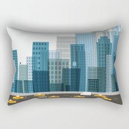 Cityscape Rectangular Pillow
