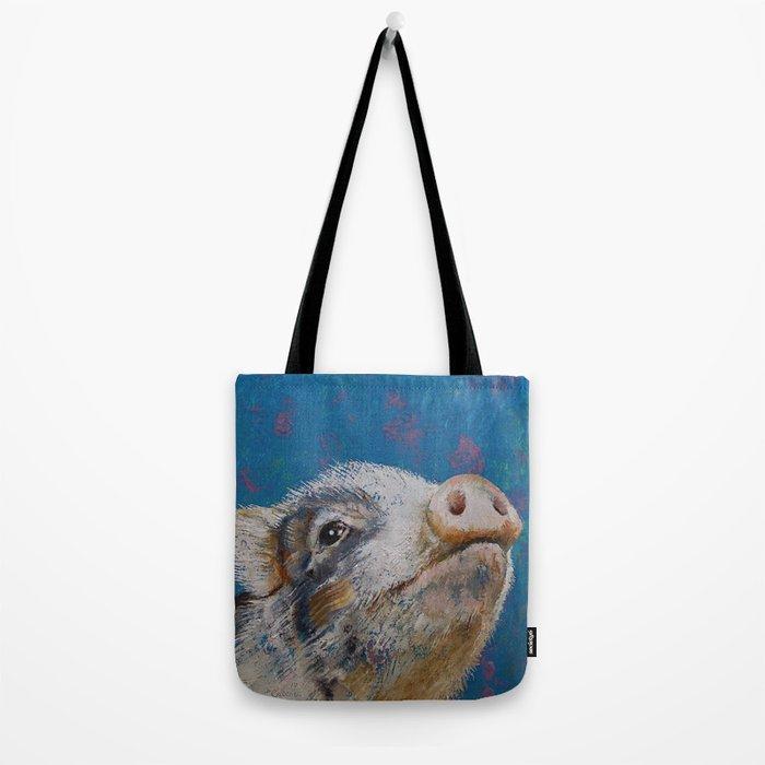 Baby Pig Tote Bag