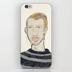 Lip Chain Piercing iPhone & iPod Skin