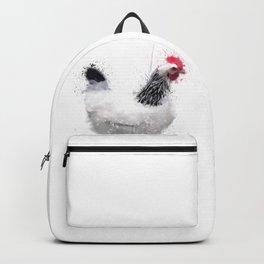 Light Sussex Hen Backpack