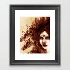 Three Fevers Framed Art Print
