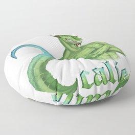 Scalie Lizard Floor Pillow